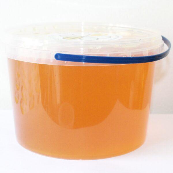Мед цветочный в пластиковой таре